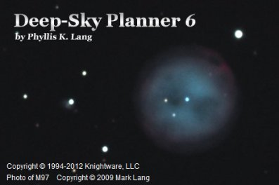 Deep-Sky Planner 6 astronomy software download
